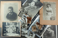 APPROXIMATELY ONE HUNDRED SIXTY-FIVE LOOSE PHOTOGRAPHS OF RENOIR'S FRIENDS, FAMILY AND ARTWORKS  THE RENOIR COL