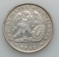 Chile, Chile: Republic Peso Lot 1853-55,... (Total: 2 coins)