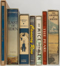 Books:Literature 1900-up, John Steinbeck. Group of Seven. Facsimile Editions. First Edition Library. Includes Of Mice and Men, Cannery Row, The Red ... (Total: 7 Items)