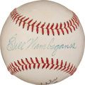 Autographs:Baseballs, 1950's Bill Wambsganss Single Signed Baseball....