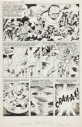 Original Comic Art:Panel Pages, Jack Kirby and Joe Simon The Double Life of Private Strong#1 Page 10 Original Art (Archie, 1959)....