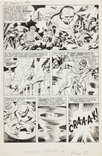 Jack Kirby and Joe Simon The Double Life of Private Strong #1 Page 10 Original Art (Archie, 1959)