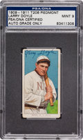 Autographs:Sports Cards, 1909-11 T206 Piedmont Larry Doyle Tobacco Card PSA/DNA Mint 9, Signed. ...