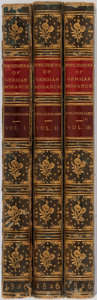 Books:Literature Pre-1900, Various Authors. Specimens of German Romance. Three Volumes.London: Printed for Geo B. Whittaker, 1826. Contemporar... (Total:3 Items)