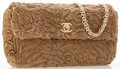Luxury Accessories:Bags, Chanel Light Brown Persian Lamb Fur Flap Bag with Gold Hardware....