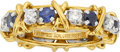 Estate Jewelry:Rings, Jean Schlumberger for Tiffany & Co., Sapphire, Diamond, GoldRing. ...