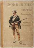Books:Americana & American History, [American West]. Frederic Remington. Done in the Open: Drawings byFrederic Remington. Collier, 1902. Later impression. Foli...