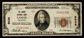 National Bank Notes:Colorado, Lamar, CO - $20 1929 Ty. 1 The Lamar NB Ch. # 9036. ...