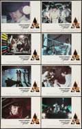"Movie Posters:Science Fiction, A Clockwork Orange (Warner Brothers, 1971). Lobby Card Set of 8 (11"" X 14""). Science Fiction.. ... (Total: 8 Items)"