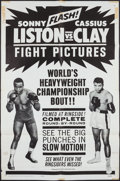 "Movie Posters:Sports, Liston vs. Clay (20th Century Fox, 1964). One Sheet (27"" X 41""),Life Magazine Tearsheets (11) (10.5"" X 13.5""). Sports.. ... (Total:12 Items)"