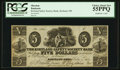 Obsoletes By State:Ohio, Kirtland, OH- The Kirtland Safety Society Bank $5 Feb. 7, 1837 G8Rust 7 Wolka 1424-10. ...
