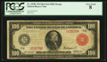 Fr. 1078b $100 1914 Red Seal Federal Reserve Note PCGS Very Good 8