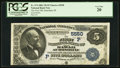 National Bank Notes:Hawaii, Honolulu, HI - $5 1882 Value Back Fr. 574 The First NB of Hawaii at Honolulu Ch. # (P)5550. ...