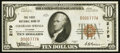 National Bank Notes:Colorado, Colorado Springs, CO - $10 1929 Ty. 1 The First NB Ch. # 2179. ...