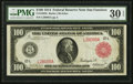 Fr. 1083b $100 1914 Red Seal Federal Reserve Note PMG Very Fine 30 EPQ
