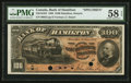 Canadian Currency: , Hamilton, ON- Bank of Hamilton $100 June 1, 1892 Ch. # 345-16-10SSpecimen. ...