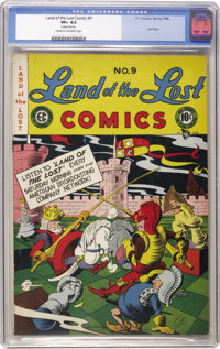 Land of the Lost #9 (EC, 1948) CGC VF+ 8.5 Cream to off-white pages. The pre-New Trend EC titles often get overlooked, b...