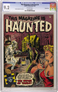 Golden Age (1938-1955):Horror, This Magazine Is Haunted #9 Crowley Copy pedigree (Fawcett, 1953)CGC NM- 9.2 Off-white pages. Sheldon Moldoff cover and art...