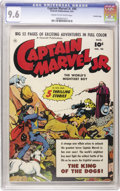 Golden Age (1938-1955):Superhero, Captain Marvel Jr. #95 Crowley Copy pedigree (Fawcett, 1951) CGC NM+ 9.6 Cream to off-white pages. 52 pages. Five stories. O...