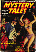Pulps:Horror, Mystery Tales V3#3 (Red Circle, 1939) Condition: FN+. Thisbeautiful glossy copy has a complete, unfaded spine and verysupp...