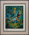 "Original Comic Art:Miscellaneous, Carl Barks - ""The Makings of a Fish Story"" Gold Plate Edition ArtPrint, 100/100 (Another Rainbow, 1988). Scrooge and the bo..."