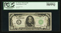 Small Size:Federal Reserve Notes, Fr. 2212-L $1000 1934A Federal Reserve Note. PCGS Choice About New 58PPQ.. ...