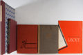 Books:Art & Architecture, [Advertising]. Group of Five. Various publishers. Includes several advertising annuals and a folio case of 1930's color il... (Total: 5 Items)