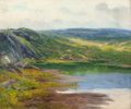 American:Regional, AMERICAN SCHOOL (20th Century). Hillside Landscape. Oil oncanvas. 25 x 30 inches (63.5 x 76.2 cm). THE JEAN AND GRAHA...