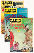 Golden Age (1938-1955):Classics Illustrated, Classics Illustrated Group (Gilberton, 1940s) Condition: AverageVG-.... (Total: 20 Comic Books)