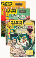 Golden Age (1938-1955):Classics Illustrated, Classics Illustrated Group (Gilberton, 1940s) Condition: AverageFR/GD.... (Total: 40 Comic Books)