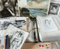 Other:European, DOSSIER OF RENOIR'S UNLISTED PAINTINGS . THE RENOIR COLLECTION. ...