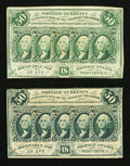 Fractional Currency:First Issue, First Issue 50¢ Note.. ...