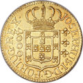 "Brazil, Brazil: Jose I ""Inverted Reverse"" gold 4000 Reis 1773,..."