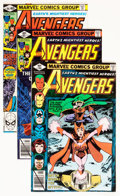 Modern Age (1980-Present):Superhero, The Avengers #185-402 Near Complete Box Lot (Marvel, 1979-96)Condition: Average NM....