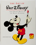 Books:Art & Architecture, [Disney]. Christopher Finch. The Art of Walt Disney: From Mickey Mouse to the Magic Kingdoms. New York: Abradale Pre...