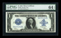 Large Size:Silver Certificates, Fr. 239 $1 1923 Silver Certificate PMG Choice Uncirculated 64 EPQ....
