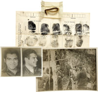 Historic Che Guevara Archive, Including a Lock of His Hair, from the CIA Agent Who Supervised Che's Burial, including fi...