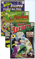 Silver Age (1956-1969):Mystery, House of Secrets Group (DC, 1965-66) Condition: Average VF-....(Total: 6 Comic Books)