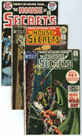 Bronze Age (1970-1979):Horror, House of Secrets Group (DC, 1970-74) Condition: Average VF....(Total: 10 Comic Books)