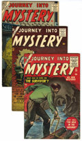 Golden Age (1938-1955):Horror, Journey Into Mystery #28, 41, and 47 Group (Marvel, 1955-57)....(Total: 3 Comic Books)