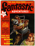 Pulps:Science Fiction, Fantastic Adventures #1 Pulp (Ziff-Davis, 1939) Condition: FN....