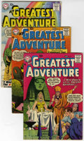 Silver Age (1956-1969):Adventure, My Greatest Adventure Group (DC, 1958-59).... (Total: 5 Comic Books)