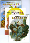 Bronze Age (1970-1979):Miscellaneous, Elfquest #1-3 Group (WaRP Graphics, 1978-79) Condition: AverageNM-.... (Total: 3 Comic Books)