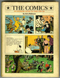 """Memorabilia:Miscellaneous, Jerry Robinson Signed - """"The Comics: An Illustrated History ofComic Strip Art"""" (G. P. Putnam's Sons, 1974) Condition: VG...."""