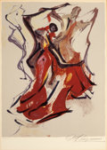 Prints:Contemporary, DAVID ALFARO SIQUEIROS (Mexican, 1896-1974). Untitled (fromPrison Fantasies I), 1968. Color lithograph. 18-1/2 x 13-3/4...