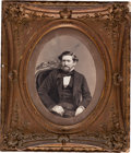 "Photography, Colonel John Coffee ""Jack"" Hays Full-Plate Salt Print Portrait, circa 1858. ..."