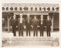 """Photography, [Texas Rangers]. Photograph of Captain Royal G. Phillips and Members of Company """"B.""""..."""