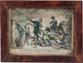 "Militaria:Ephemera, [Mexican War]. Lithograph: ""The Death of Capt. Walker atHuamantla In Mexico."" ..."