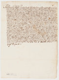 Autographs:Non-American, Pope Gregory XV Letter Signed, circa 1622....