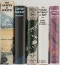 Books:Literature 1900-up, [Literature]. Various Authors. Group of Five. Facsimile FirstEditions. Includes Edgar Rice Burroughs, John Steinbeck, Wil...(Total: 5 Items)